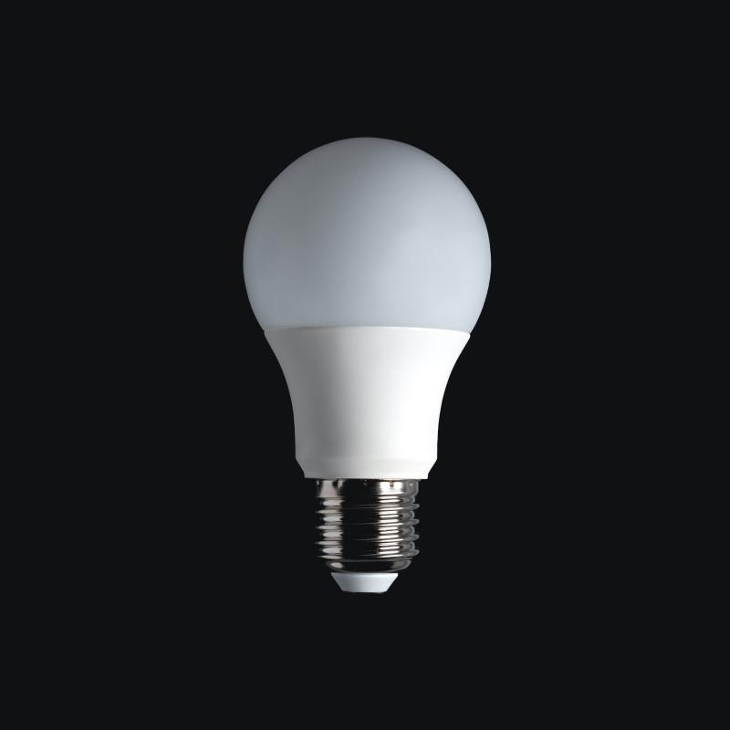 Λάμπα LED σε μαύρο background